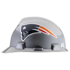 MSA Safety Works Standard Size New England Patriots NFL Hard Hat