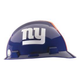 MSA Safety Works Standard Size New York Giants NFL Hard Hat