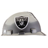 MSA Safety Works Standard Size Oakland Raiders NFL Hard Hat