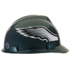 MSA Safety Works Standard Size Philadelphia Eagles NFL Hard Hat