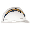 MSA Safety Works Standard Size San Diego Chargers NFL Hard Hat