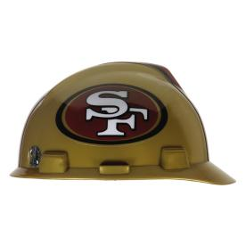 MSA Safety Works Standard Size San Francisco 49ers NFL Hard Hat