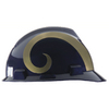 MSA Safety Works Standard Size St Louis Rams NFL Hard Hat