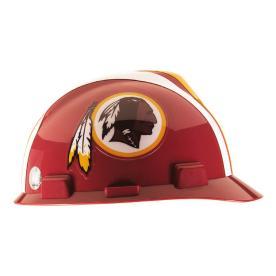 MSA Safety Works Standard Size Washington Redskins NFL Hard Hat