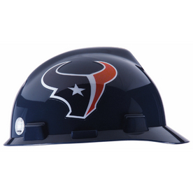 MSA Safety Works Standard Size Houston Texans NFL Hard Hat