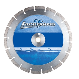 Lackmond 14-in 24-Tooth Wet or Dry Segmented Diamond-Tipped Steel Circular Saw Blade