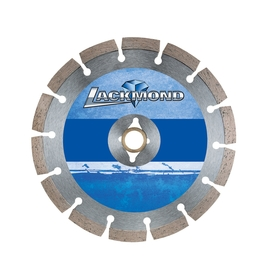 Lackmond 4-in 8-Tooth Wet or Dry Segmented Diamond-Tipped Steel Circular Saw Blade