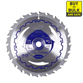 Kobalt 7-1/4-in 24-Tooth Segmented Circular Saw Blade