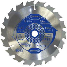 Kobalt 6-1/2-in 18-Tooth Segmented Circular Saw Blade