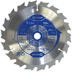 Kobalt 6-1/2-in 18-Tooth Segmented Carbide Circular Saw Blade