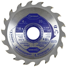 Kobalt 4-in 18-Tooth Segmented Circular Saw Blade