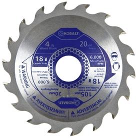 Kobalt 4-in 18-Tooth Segmented Carbide Circular Saw Blade