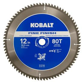 Kobalt 12-in 80-Tooth Segmented Circular Saw Blade