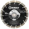 Kobalt 10-in Wet or Dry Segmented Circular Saw Blade