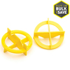 TAVY 100-Pack 1-in W x 1-in L 1/32-in Yellow Plastic Tile Spacers