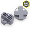 TAVY 100-Pack 1-in W x 1-in L 3/8-in Gray Plastic Tile Spacers