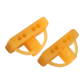 TAVY 100-Pack 1-in W x 1-in L 1/4-in Orange Plastic Tile Spacer