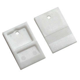 TAVY 100-Pack 1-in W x 1-in L 1/8-in White Plastic Tile Spacer