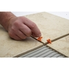 Project Source 100-Pack 1-in W x 1-in L 1/4-in Orange Plastic Tile Spacer