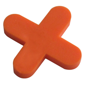 Project Source 500-Pack 1-in W x 1-in L 1/4-in Orange Plastic Tile Spacer