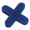 Pacesetter 500-Pack 1-in W x 1-in L 3/16-in Blue Plastic Tile Spacer