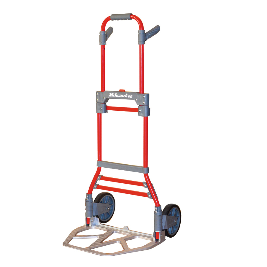 Shop Milwaukee Aluminum Folding Hand Truck At Lowes Com