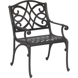 Sturdy Chairs on Chair   Garden Treasures Waterbridge Aluminum Patio Chair   Epinions