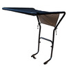 Blue Hawk Black Tarpaulin Universal Tractor Canopy
