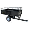 PreciseFit 17 cu ft Steel Dump Cart