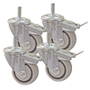 Kreg 3-in Dual Locking Caster Set (Set of 4)