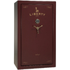 Liberty Colonial 30-Gun Burgundy Marble Gloss Gun Safe with Electronic Lock