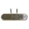 Master Forge 15.75-in Stainless Steel Bar Burner