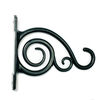 5-in Black Steel Traditional Plant Hook
