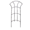 Garden Treasures 12-in W x 24-in H Black Trellis