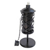 Garden Treasures 12-in Traditional Black Tabletop Citronella Torch