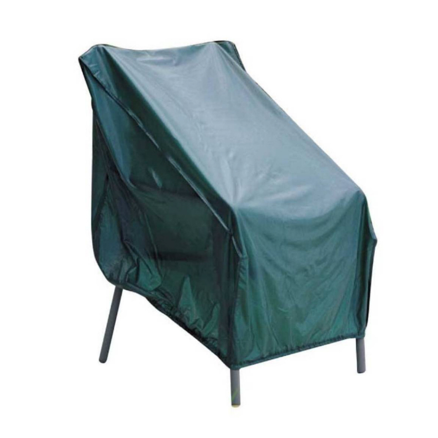 Shop garden treasures green vinyl conversation chair cover for Green furniture covers