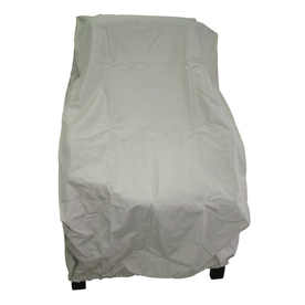 Shop Garden Treasures Taupe Polyester Conversation Chair Cover at