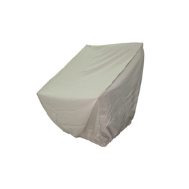 Shop Garden Treasures Garden Treasures Taupe Polyester Chair Cover ...