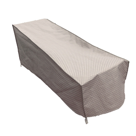 Patio seating patio chairs chaise lounge cushions for Allen roth tenbrook extruded aluminum patio chaise lounge