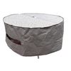 allen + roth Allen + Roth Trellis Pattern Polyester Dining Table Round Cover