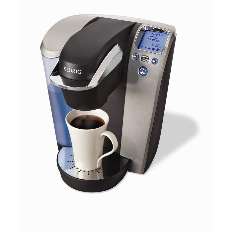 Keurig Coffee Maker Programmable : Shop Keurig Platinum Programmable Single-Serve Coffee Maker at Lowes.com
