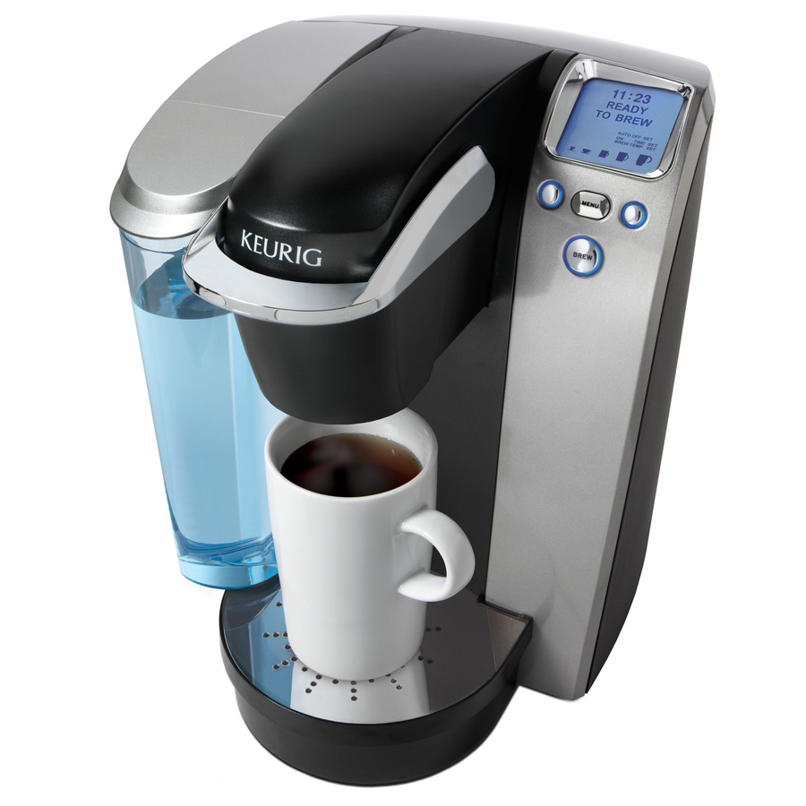 Keurig Coffee Maker Single Cup : Shop Keurig Platinum Programmable Single-Serve Coffee Maker at Lowes.com