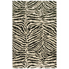 Bashian Charlton 5-ft 6-in x 8-ft 6-in Rectangular White Transitional Area Rug