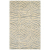 Bashian Charlton 3-ft 9-in x 5-ft 9-in Rectangular White Transitional Area Rug