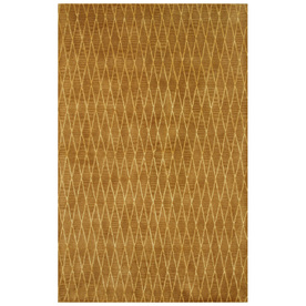 Bashian Charlton 5-ft 6-in x 8-ft 6-in Rectangular Tan Transitional Area Rug