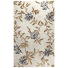 Bashian Portsmouth 3-ft 6-in x 5-ft 6-in Rectangular Beige Transitional Area Rug