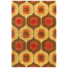 Bashian Ashland 3-ft 6-in x 5-ft 6-in Rectangular Tan Transitional Area Rug