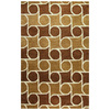 Bashian Ashland 7-ft 6-in x 9-ft 6-in Rectangular Tan Transitional Area Rug