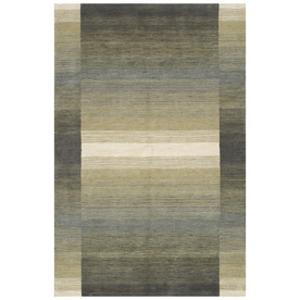 Bashian Fulham 3-ft 6-in x 5-ft 6-in Rectangular Gray Geometric Area Rug