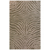 Bashian Portsmouth 5-ft x 8-ft Rectangular Gray Transitional Area Rug